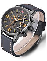 Hombre Reloj Deportivo Reloj de Vestir Reloj de Moda Reloj de Pulsera Reloj creativo único Reloj Casual Chino CuarzoCalendario Resistente