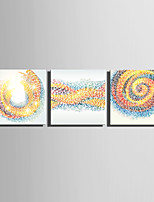 E-HOME® Stretched Canvas Art Color Vortex Series Decoration Painting MINI SIZE One Pcs
