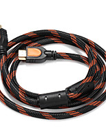HDMI 1.4 Cable, HDMI 1.4 to HDMI 1.4 Cable Macho - Macho 1,5 m (5 pies)