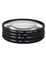 Andoer 77mm uv cpl close-up4 star filtro de 8 pontos filtro circular filtro circular polarizador filtro macro close-up estrela filtro de 8