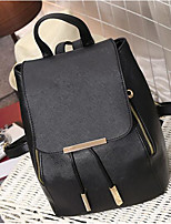 Women Bags All Seasons PU Backpack with for Casual White Black Sky Blue
