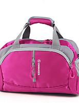 Unisex Travel Bag Cotton All Seasons Casual Sports Outdoor Weekend Bag Zipper Fuchsia Orange Black Green Blue