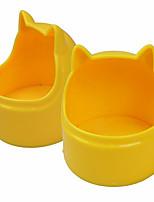 Chat Chien Bols & Bouteilles d'eau Animaux de Compagnie Bols & alimentation Etanche Ajustable/Réglable Portable Diatonique double Pliable