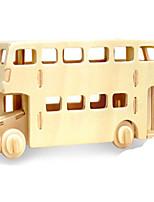 Пазлы Набор для творчества 3D пазлы Металлические пазлы Строительные блоки Игрушки своими руками Автомобиль Натуральное дерево