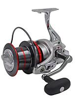 Fishing Reel Bearing Molinetes Rotativos 4:1 14 Rolamentos Trocável Pesca de Água Doce Pesca de Isco Pesca Geral Pesca de Isco e Barco-