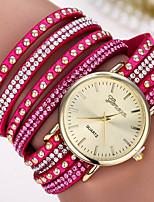 Femme Bracelet de Montre Numérique Métallique Bande Noir Blanc Bleu Rouge Marron Vert Rose Violet Bleu marine Rouge Rose
