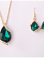 Women's Jewelry Set Rhinestone Pendant Rhinestone Alloy Drop For Wedding Party Special Occasion Anniversary Birthday Wedding Gifts