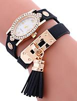 Mulheres Relógio Esportivo Relógio de Moda Bracele Relógio Único Criativo relógio Relógio Casual Quartzo PU BandaPendente Casual Criativo