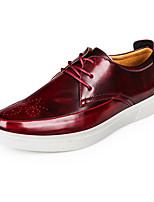 Для мужчин Кеды Удобная обувь Светодиодные подошвы Микроволокно Осень Зима Свадьба Повседневные Для вечеринки / ужинаУдобная обувь
