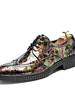 Men's Oxfords Clogs & Mules Spring Fall Wedding Outdoor Office & Career Casual Party & Evening Flat Heel Others Black Brown
