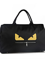 Women Travel Bag Polyester All Seasons Casual Outdoor Weekend Bag Zipper Yellow Red White