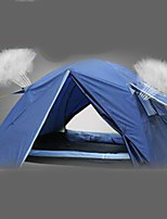 1 person Tent Double Camping Tent Fold Tent Rain-Proof for Camping / Hiking CM Other Material