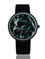Муж. Уникальный творческий часы Кварцевый Материал Группа Повседневная Черный