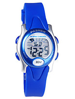 Kid's Sport Watch Digital Water Resistant / Water Proof Rubber Band Black Blue Red Green