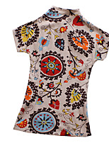 Top o camicia Lolita Classica e Tradizionale Ispirazione Vintage Cosplay Vestiti Lolita Vintage Con stampe Lolita Top Per Lino Cotone