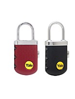 YALE YP3/31/123/1 Suitcase Lock Password Unlocking 3 Digit Password Dail Lock Password Lock