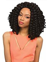 Tresses bouclés Crochet Bouncy Curl Jamaican Bounce Hair Kanekalonvin foncé Noir / Blond Fraise Noir / Medium Auburn Noir / Auburn Noir /