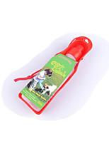Chat Chien Bols & Bouteilles d'eau Animaux de Compagnie Bols & alimentation Etanche Portable Durable Jaune Rouge
