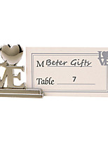 Party Table Decor LOVE Place Card Holder - 8pcs/set - 3.2 x 3 x 0.9 cm/pcs - Without Cards - Beter Gifts® Life Style