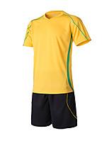 Homme Football Shirt Confortable Eté simple Polyester Tactel Football