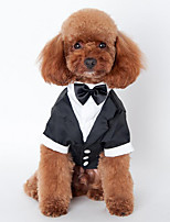 Dog Tuxedo Dog Clothes Wedding Solid