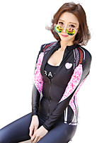 New Jellyfish Clothing Snorkeling Suit Swimsuit Diving Suits Women Split Zipper Shirt Sunscreen Was Thin Quick Dry Swimsuit