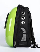 Chat Chien Sac de transport Animaux de Compagnie Transporteur Portable Respirable Couleur Pleine Vert