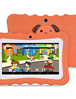 M711 7 inch Android 4.4.2 Quad Core 1024*600 TFT Screen 512M/8G 2500mah Kid Tablet Orange