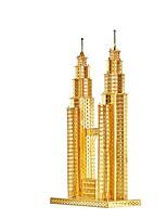 Пазлы Набор для творчества 3D пазлы Металлические пазлы Строительные блоки Игрушки своими руками Архитектура Алюминий