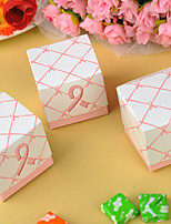 12 Piece/Set Favor Holder - Creative Card Paper Favor Box - Wedding Candy Box 5.2x5.2x5.2 Beter Gifts® DIY Party Decor