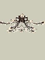 Lightmyself 10 lumières lampe de plafond en cristal moderne noir intérieur éclairage pour salon chambre salle à manger