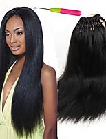 18inch Magic yaki straight hair Straight hair Crochet Braids Pre loop hair Synthetic Braiding Hair human feel pre braided crochet hair Synthetic hair