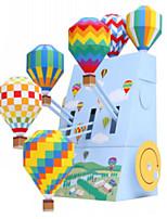 Jigsaw Puzzles DIY KIT 3D Puzzles Building Blocks DIY Toys Architecture
