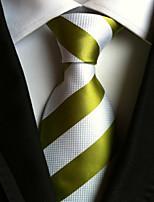 Men's Polyster Neck TieNeckwear Striped All Seasons W0054
