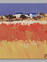 Ручная роспись Пейзаж Художественный 1 панель Холст Hang-роспись маслом For Украшение дома