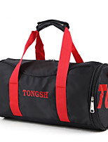 Unisex Travel Bag Oxford Cloth All Seasons Casual Sports Outdoor Weekend Bag Zipper Clover Purple Red Black Blue