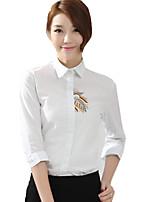 Blouse/Shirt Classic/Traditional Lolita Lolita Cosplay Lolita Dress Print Long Sleeve Lolita Blouse For Cotton Fabric