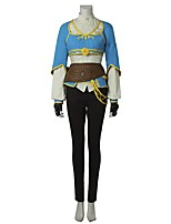 Inspired by The Legend of Zelda Cosplay Video Game Cosplay Costumes Cosplay Suits FashionShirt Top Pants Gloves Apron Belt Bag More
