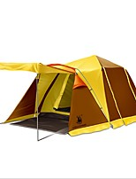 GAZELLE OUTDOORS 3-4 persons Tent Double Camping Tent Automatic Tent Rain-Proof Tent for Camping CM One Room Terylene Oxford PU