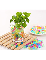 2500 Pcs Above/Group Pearl shaped Crystal Soil Water Beads Water Beads Mud Grow Magic Jelly balls Plant Crystal Soil Home Decor hydrogel