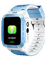 Детские Смарт-часы Модные часы Цифровой Защита от влаги Pезина Группа Черный Белый Синий Розовый