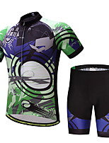 CYCEARTH Cycling Jersey Shorts Pants Short Sleeve Set Men's Bike Clothing Suits Clothes Summer Breathable Quick Dry CES1008