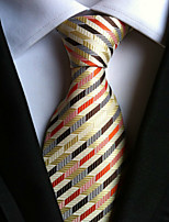 Men's Polyster Neck TieNeckwear Striped All Seasons W0055