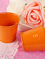 12 Piece/Set Favor Holder Metal Favor Tins and Pails Non-personalised - 7 x 6 x 6 cm/pcs