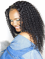 Premier®kinky curly flush glueless lace peruca dianteira 100% brasileira cabelo humano virgem cabelo humano sem glúteo com cabelo de bebê