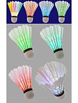 4pcs Sport de détente Badminton Lampe LED Eclairage LED Eclairage LED Matériaux Légers pour Mousse de polystyrène
