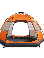 5-8 personnes Lit de Camp Unique Tente automatique Une pièce Tente de camping OxfordEtanche Chaud Résistant à l'humidité Tente Ecran