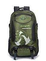Unisex Sports & Leisure Bag Nylon All Seasons Sports Outdoor Climbing Weekend Bag Zipper Military Green Sky Blue Red Black Blue 30-40