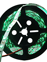 HKV® 1 Pcs 5M 36W 300 LED 5730 SMD No-Waterproof Naturally Green Blue Red Light Normal Brightness Flexible LED Light Bar Strip DC 12V
