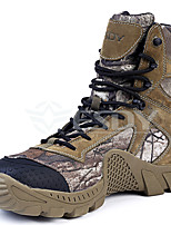 Men's Boots Fashion Boots Canvas Fall Winter Athletic Outdoor Office & Career Brown Under 1in